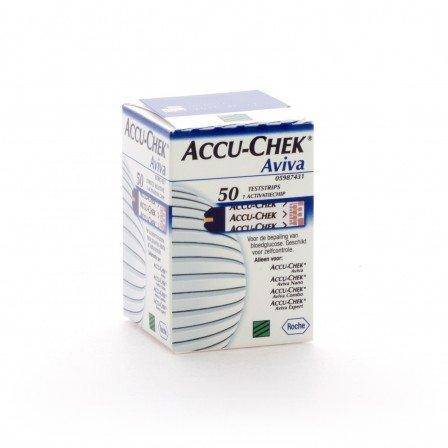 Medische Vakhandel Accu-Chek® Aviva 50 Teststreifen