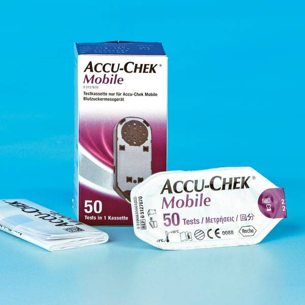 Medische Vakhandel Accu-Chek® Mobile 50 Tests