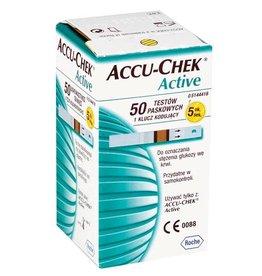 Medische Vakhandel Accu-Chek® Active 50 Teststreifen