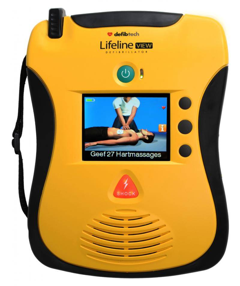 Defibtech AED LifeLine View