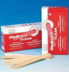 Medische Vakhandel Medispat Holzmundspatel, 100 Stück