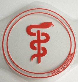 Medische Vakhandel Aesculaap sticker voor artsen