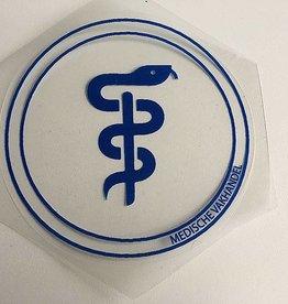 Medische Vakhandel Aesculaap sticker voor verloskundigen