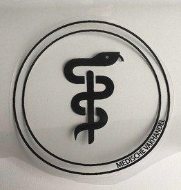 Medische Vakhandel Aesculapius sticker - dentist