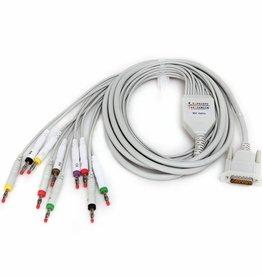 Contec ECG kabel 12 Lead voor Contec ECG 100G / ECG300G / 600G //1200G