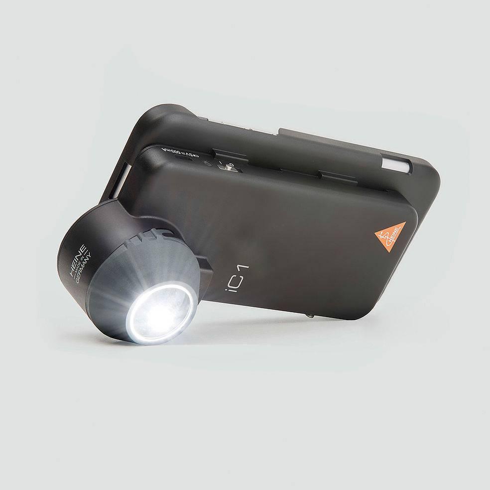 Medische Vakhandel Heine dermatoscoop ic1 set iphone 5(s) se k-271.28.305