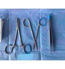 Medische Vakhandel Steriles Nahtset mit Einweginstrumenten, 10 Stück