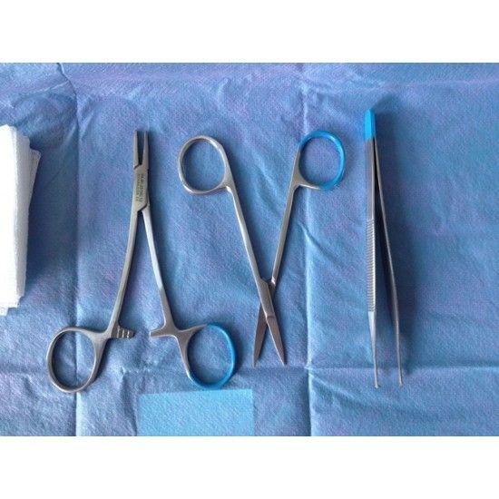 Medische Vakhandel Disposable hechtset steriel verpakt 10 stuks