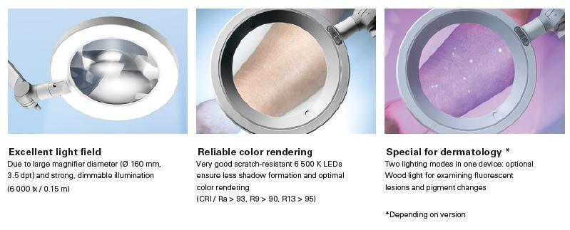 Derungs Loeparmatuur OPTICLUX Optie Woodlamp