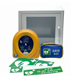 HeartSine Heartsine Samaritan 350P AED Pakket met kast - Inruilkorting van € 150,-