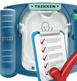 Philips AED Heartstart service / onderhoud allein NL
