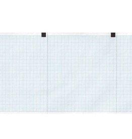 GIMA EKG-Papier bleu grid