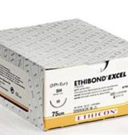 Ethicon Ethibond Excel usp 6/0, 75 cm, V-37 green X32082, 12 x 1