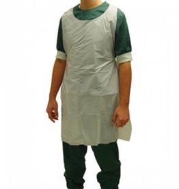 Medische Vakhandel Klinion Protection schort PE 125 X 80 CM 100ST WIT 522130