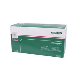 Klinion Klinion hg hydrofiel gaaskompres 5 x 5 cm 12 lagen  100 x 1 st 111017 Steriel