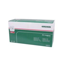 Klinion Klinion hg hydrofiel gaaskompres 5x5 cm 12 lagen  100 x 1 st 111017 Steriel