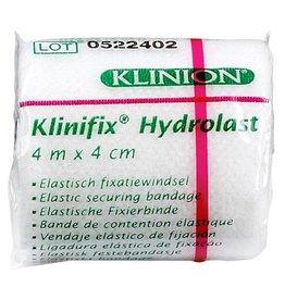 Klinion Klinion klinifix hydrolast elastisch fixatiewindsel 4 m x 4 cm wit 132227