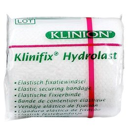 Klinion Klinion klinifix hydrolast elastisch fixatiewindsel 4 m x 6 cm wit 132228