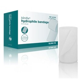 Klinion Klinion klinifix hydrofiel niet elastisch fixatiewindsel 6 cm x 4 m 132282 - 20 stuks