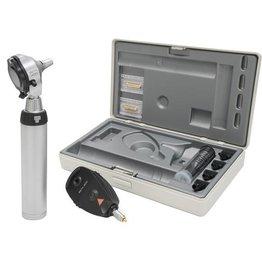 Heine HEINE Beta®400 LED F.O. Otoskop + Beta 200 LED Ophtalmoskop-Set mit NT 4 Tisch-Ladegerät A-153.24.420