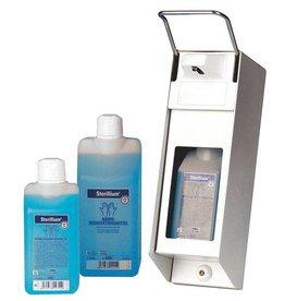 Servoprax Seifen- und Desinfektionsmittelspender aus Aluminium - 500 ml