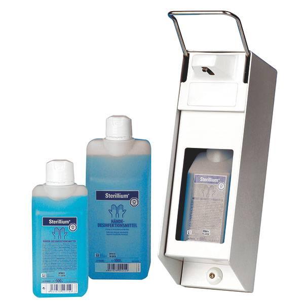 Servoprax Aluminium zeep en desinfectiemiddel dispenser - 500 ml