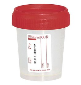 Servoprax Urin Schraubgefäß, 60 ml - 500 Stück