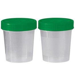 Servoprax Urinbecher mit Schraubdeckel, unsteril, 125 ml - 500 Stück