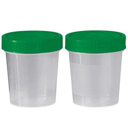 Servoprax Urine specimen cup with screw cap - unsterile - 125 ml - 500 pieces