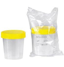 Servoprax Urinbecher mit Schraubdeckel, steril,  125 ml - 150 Stück