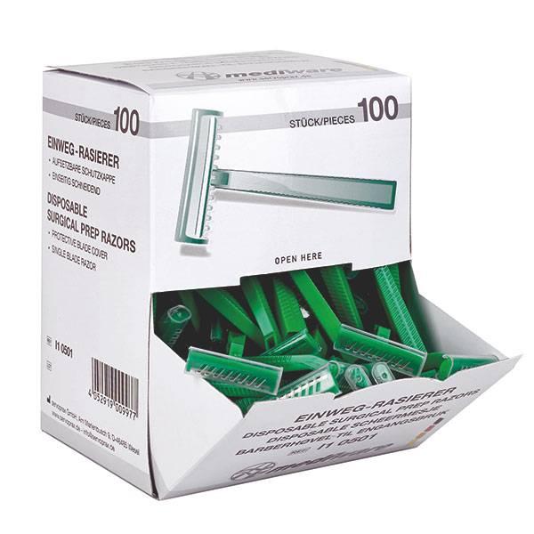 Mediware Mediware Einmal-Rasierer - 100 Stück