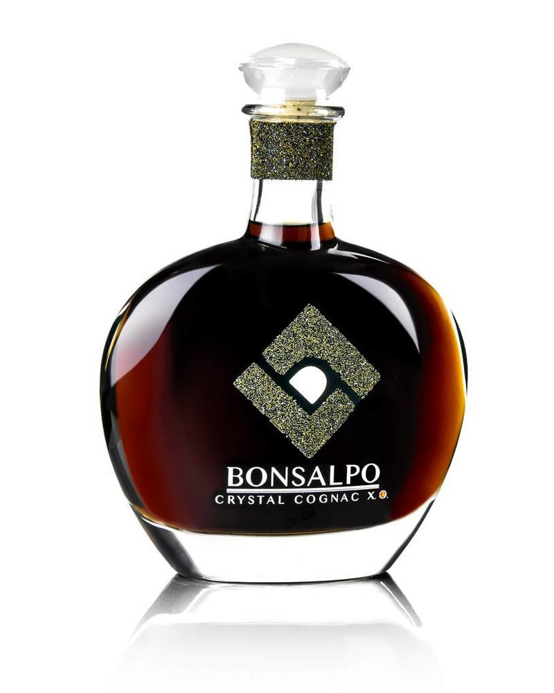 Bonsalpo Crystal Cognac X.O. mit Ugni Blanc Trauben