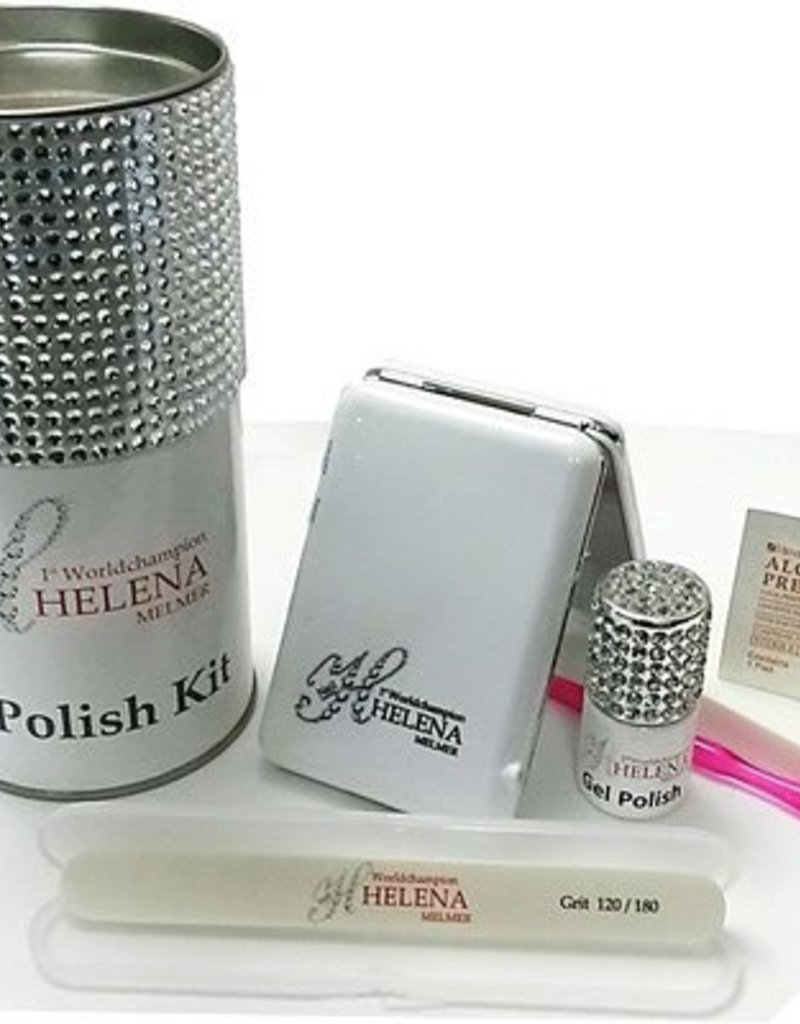 Helena Melmer Cosmetics Gel Polish Home Kit Komplett Set für Unterwegs