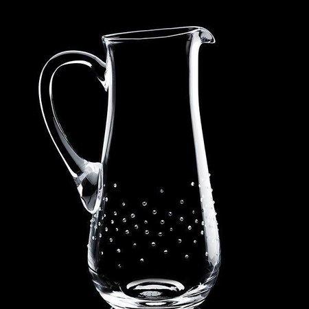 Luxor Crystal  BARON: Eleganter Wasserkrug veredelt mit 250 Kristallen im Streudesign