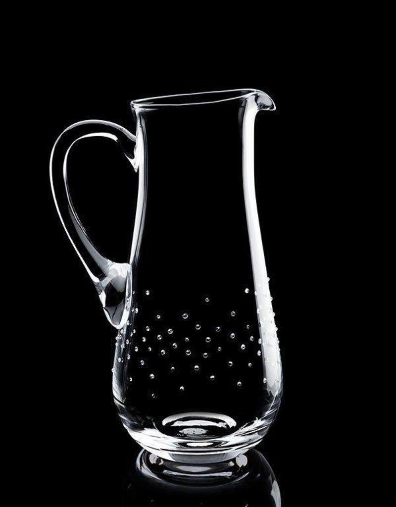 Luxor Crystal  BARON: Eleganter Wasserkrug veredelt mit 250 Swarovski® Kristallen im Streumuster.