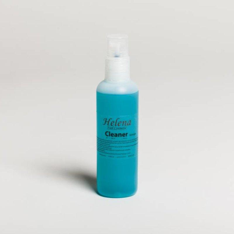 Cleansing fluid in spray bottle
