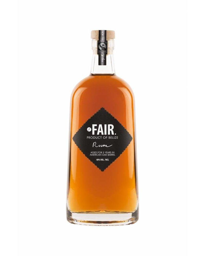 Fair. Fair. Rum Belize limited edition 10 years