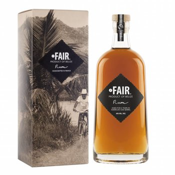 Fair. Rum Belize
