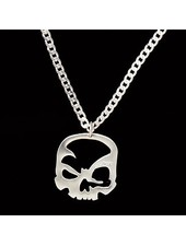 scull-art Curb chain necklace