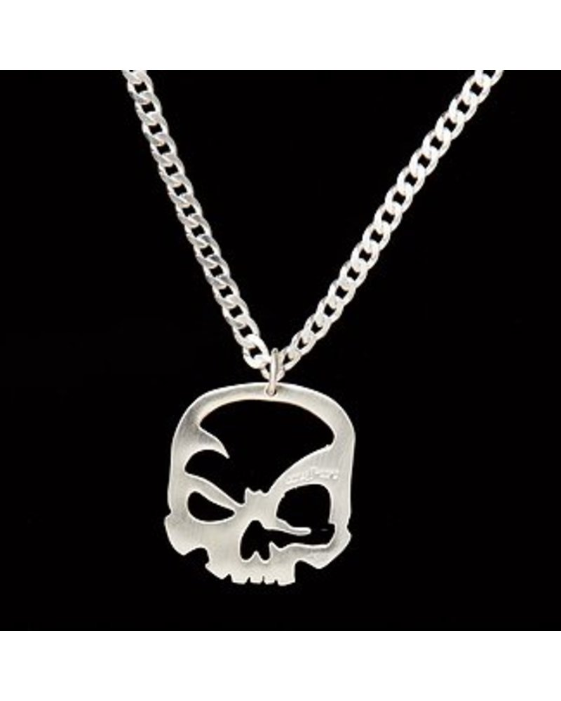 scull-art Curb chain necklace in 925 sterling silver