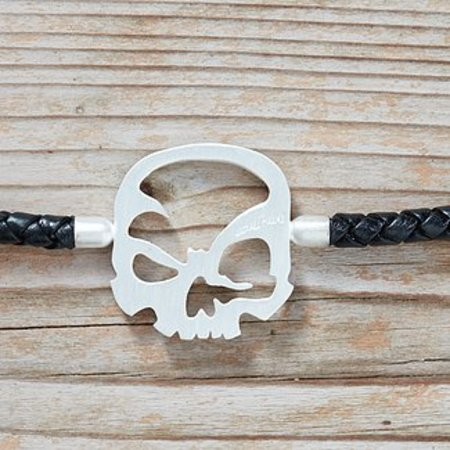 "scull-art Bracelet ""Solo"" in 925er sterling silver"