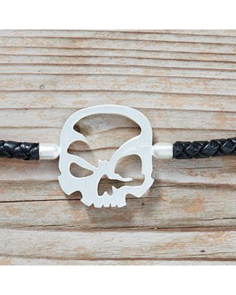 """scull-art Armband """"Solo"""" 925er Sterling Silber"""