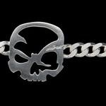 "scull-art Armband ""Panzerkette"""