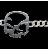 """scull-art Armband """"Panzerkette"""" aus 925er Sterling-Silber"""