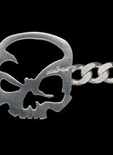 "scull-art scull-art bracelet ""Curb Chain"""