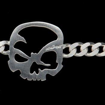 """scull-art scull-art Armband """"Panzerkette"""""""