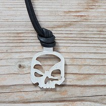 Key fob scull-art