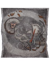 "scull-art Scarf ""Time"""