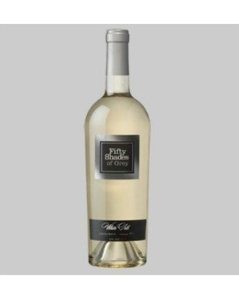 Fifty Shades of Grey White Silk: Cuveé of Gewurztraminer and Sauvignon Blanc