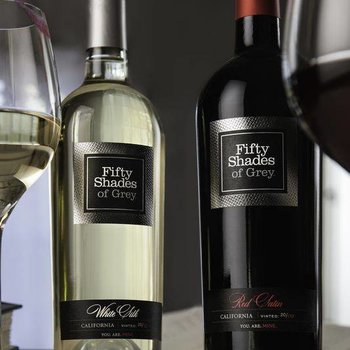 Fifty Shades of Grey Wine collection